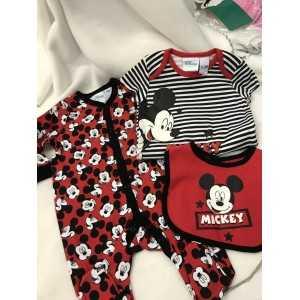 Ensemble Mickey rouge ou...